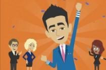 Анимационный рекламный видеоклип. Новинка 8 - kwork.ru