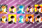 Ультрамодные Аватарки для Соцсетей - Макет Бесплатно 15 - kwork.ru
