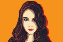 Стилизованный портрет 3 - kwork.ru