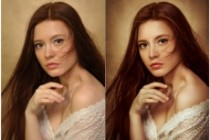 Сделаю портрет в любом понравившемся вам стиле в Photoshop 5 - kwork.ru