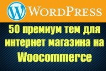 50 премиум тем WP для интернет-магазина на WooCommerce 93 - kwork.ru