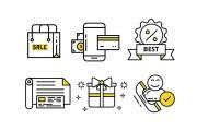 Нарисую векторные иконки для сайта, соц. сетей, приложения 34 - kwork.ru