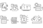 Нарисую векторные иконки для сайта, соц. сетей, приложения 39 - kwork.ru