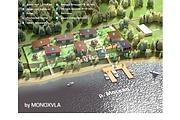 3D визуализация - план базы отдыха, санатория, детского лагеря 5 - kwork.ru
