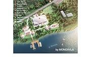 3D визуализация - план базы отдыха, санатория, детского лагеря 7 - kwork.ru
