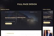 Дизайн блока сайта 67 - kwork.ru