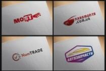 Создам современный логотип 206 - kwork.ru