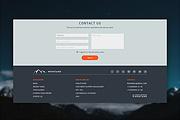 Landing page, создай свой уникальный стиль. 1 блок 45 - kwork.ru