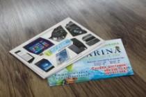 Разработаю дизайн визитки 32 - kwork.ru