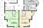 Планировка и перепланировка квартиры 13 - kwork.ru
