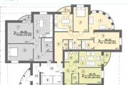 Планировка и перепланировка квартиры 14 - kwork.ru