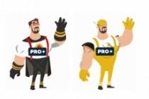 Анимация c персонажами на выбор 9 - kwork.ru