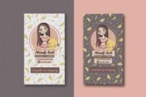 Дизайн визитной карточки 44 - kwork.ru