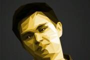 Сделаю полигональный портрет из вашего фото 4 - kwork.ru