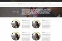 Дизайн одного блока Вашего сайта в PSD 219 - kwork.ru
