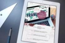 Индивидуальный дизайн 1 экрана сайта 4 - kwork.ru