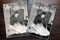 Реставрация старых фотографий 74 - kwork.ru