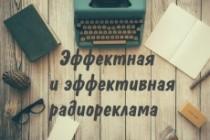 Озвучка аудио- и видеорекламы, для ТВ, ТЦ, радио или метро 5 - kwork.ru