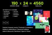 4560 шаблонов для соц сетей весом 125GB 11 - kwork.ru