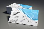 Создание визиток, односторонних и двусторонних, любого типа и желания 36 - kwork.ru