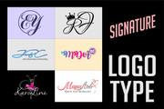 Создам логотип - Подпись - Signature в трех вариантах 131 - kwork.ru