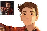 Создам ваш портрет в стиле аниме 126 - kwork.ru
