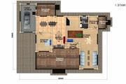 Создам планировку дома, квартиры с мебелью 151 - kwork.ru