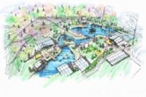 Выполню концепцию ландшафта загородного участка в стиле архскетчинга 12 - kwork.ru