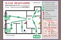Сделаю план эвакуации в соответствии с гост 12. 2. 143. 2009 3 - kwork.ru