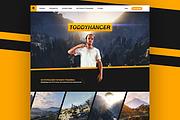 Landing PAGE дешего. 1 Страница PSD FLAT, Material Design 7 - kwork.ru