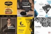 200 шаблонов оформления для соцсетей Instagram, Facebook и других 4 - kwork.ru