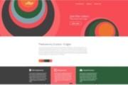 Верстка страницы сайта по макету 30 - kwork.ru