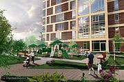 3D визуализация - многоквартирный дом, жилой комплекс 5 - kwork.ru