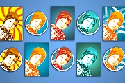 Аватары для Ваших Социальных Сетей - Макет Бесплатно 16 - kwork.ru