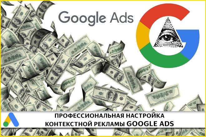 Профессиональная настройка контекстной рекламы Google Ads 1 - kwork.ru
