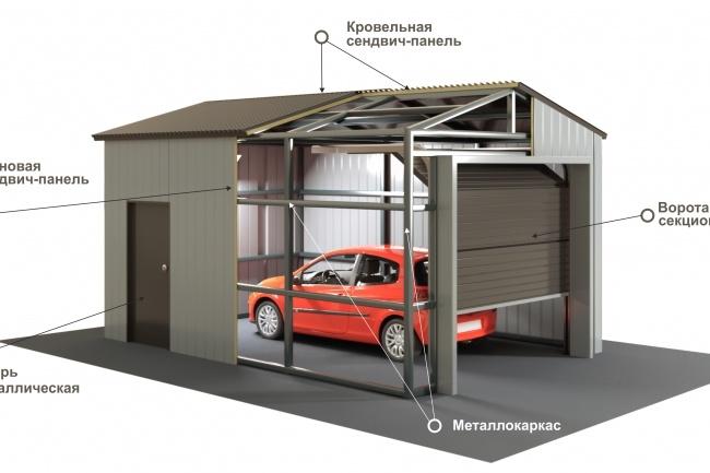 Выполню 3D модель и визуализацию в среде 31 - kwork.ru