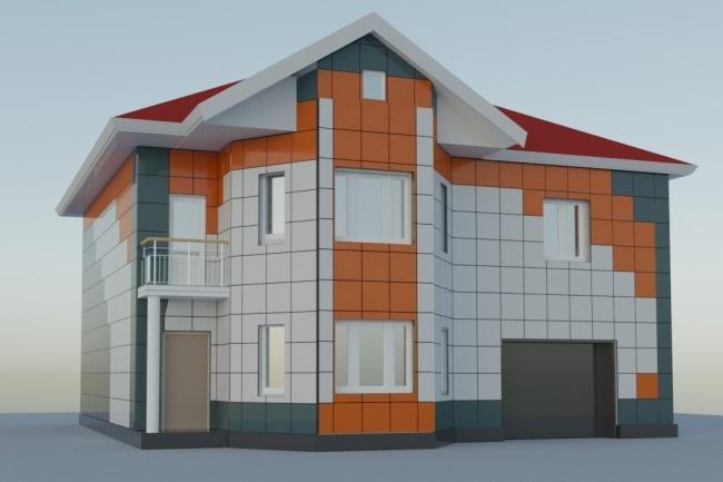 Выполню 3D модель и визуализацию в среде 32 - kwork.ru