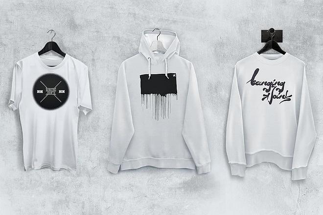 Продам коллекцию шаблонов Photoshop для визуализации дизайна футболок 14 - kwork.ru