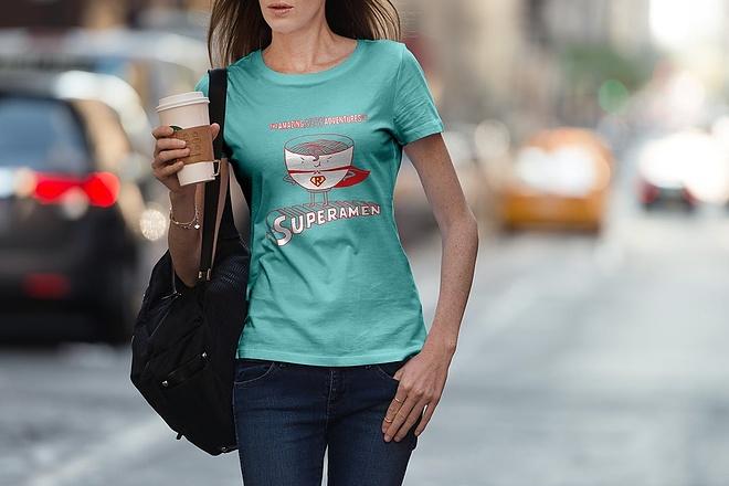 Продам коллекцию шаблонов Photoshop для визуализации дизайна футболок 15 - kwork.ru