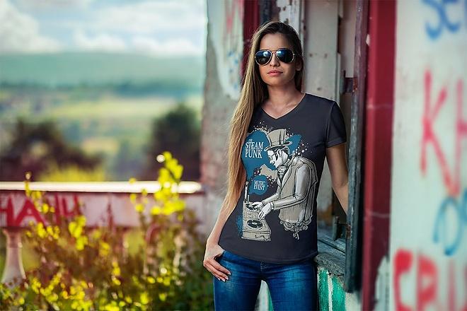 Продам коллекцию шаблонов Photoshop для визуализации дизайна футболок 16 - kwork.ru