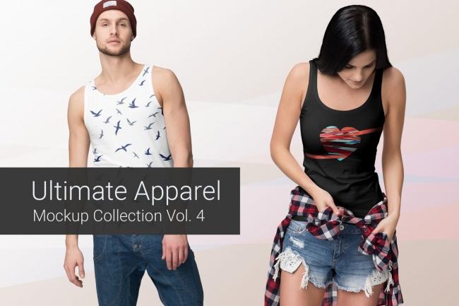 Продам коллекцию шаблонов Photoshop для визуализации дизайна футболок 3 - kwork.ru