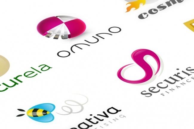 Огромный набор редактируемых шаблонов для логотипов 6 - kwork.ru