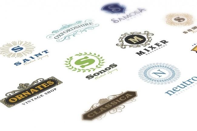 Огромный набор редактируемых шаблонов для логотипов 7 - kwork.ru
