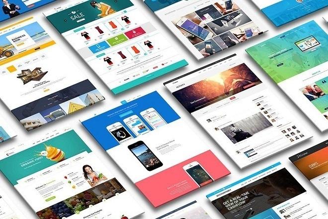 Новые премиум шаблоны Wordpress 101 - kwork.ru