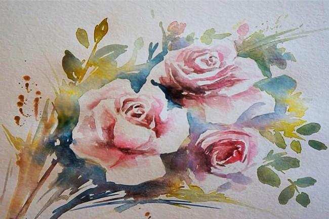 Нарисую рисунок или эскиз в ручной технике красиво и быстро 26 - kwork.ru
