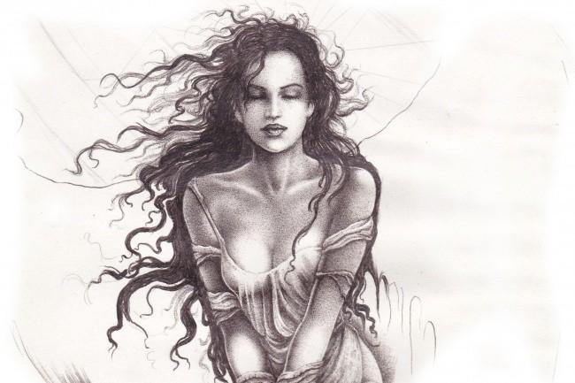 Нарисую портрет карандашом по фотографии 1 - kwork.ru