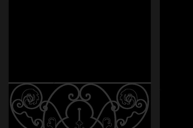 Сделаю 3d модель кованных лестниц, оград, перил, решеток, навесов 28 - kwork.ru