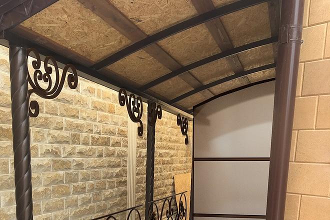 Сделаю 3d модель кованных лестниц, оград, перил, решеток, навесов 31 - kwork.ru