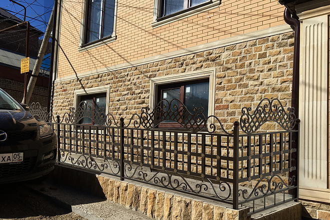 Сделаю 3d модель кованных лестниц, оград, перил, решеток, навесов 32 - kwork.ru