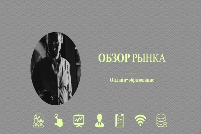 Обзор рынка онлайн-образования 1 - kwork.ru